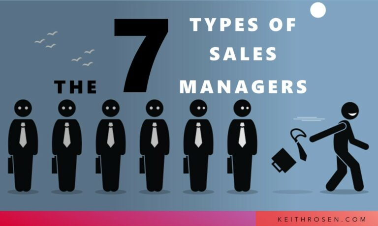 The Seven Types of Sales Managers