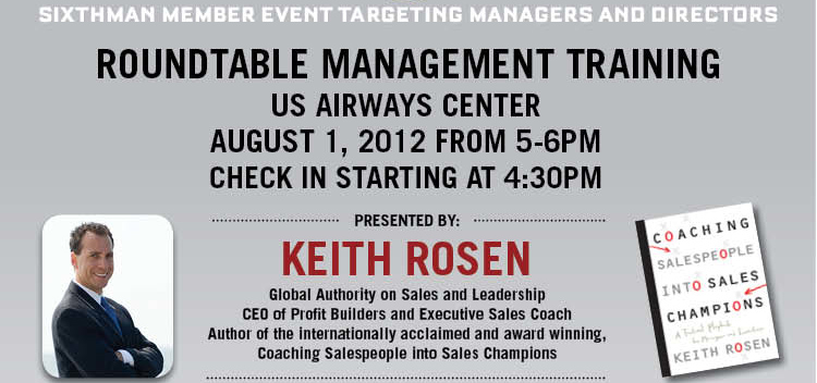 Suns Host Management Training Roundtable With Keith Rosen