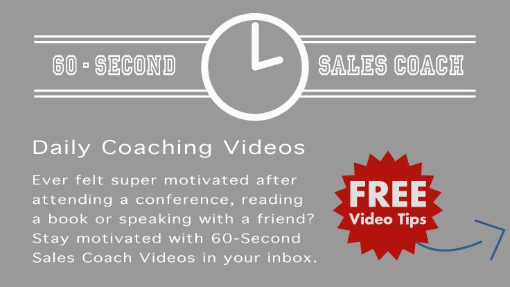 60-Second Sales Coach