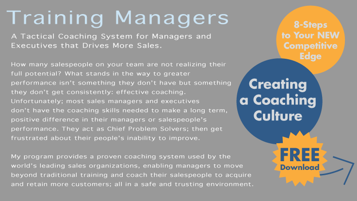 Coaching Managers - Create a Coaching Culture