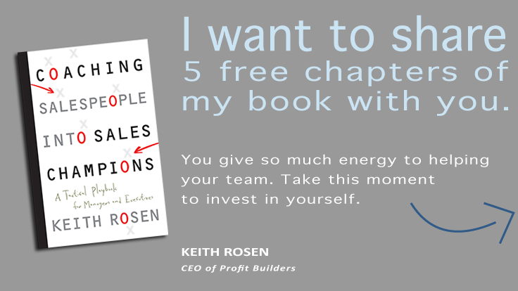 Coaching Salespeople Into Sales Champions Share Chapters