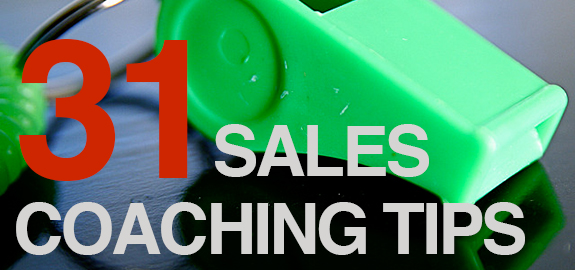 31 Inspirational Sales Coaching Tips