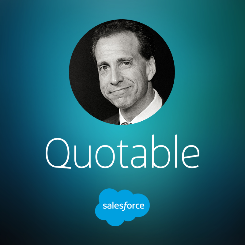 Salesforce Podcast: How to Make Top Salespeople Great Managers