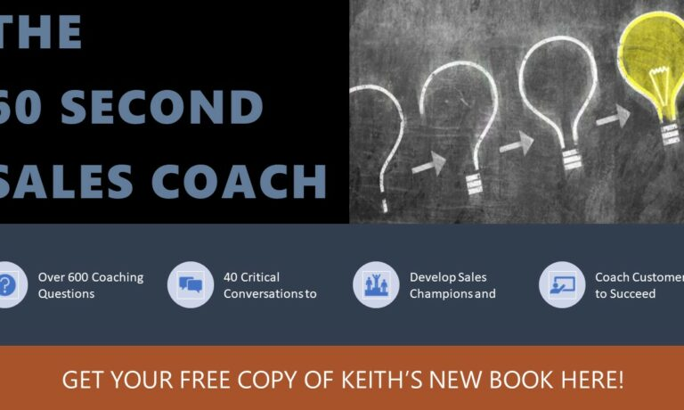 New Book! The 60 Second Sales Coach