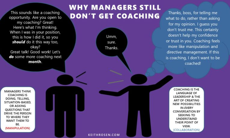 Companies Fail at Creating a Coaching Culture Because They Don't Know What Coaching Is