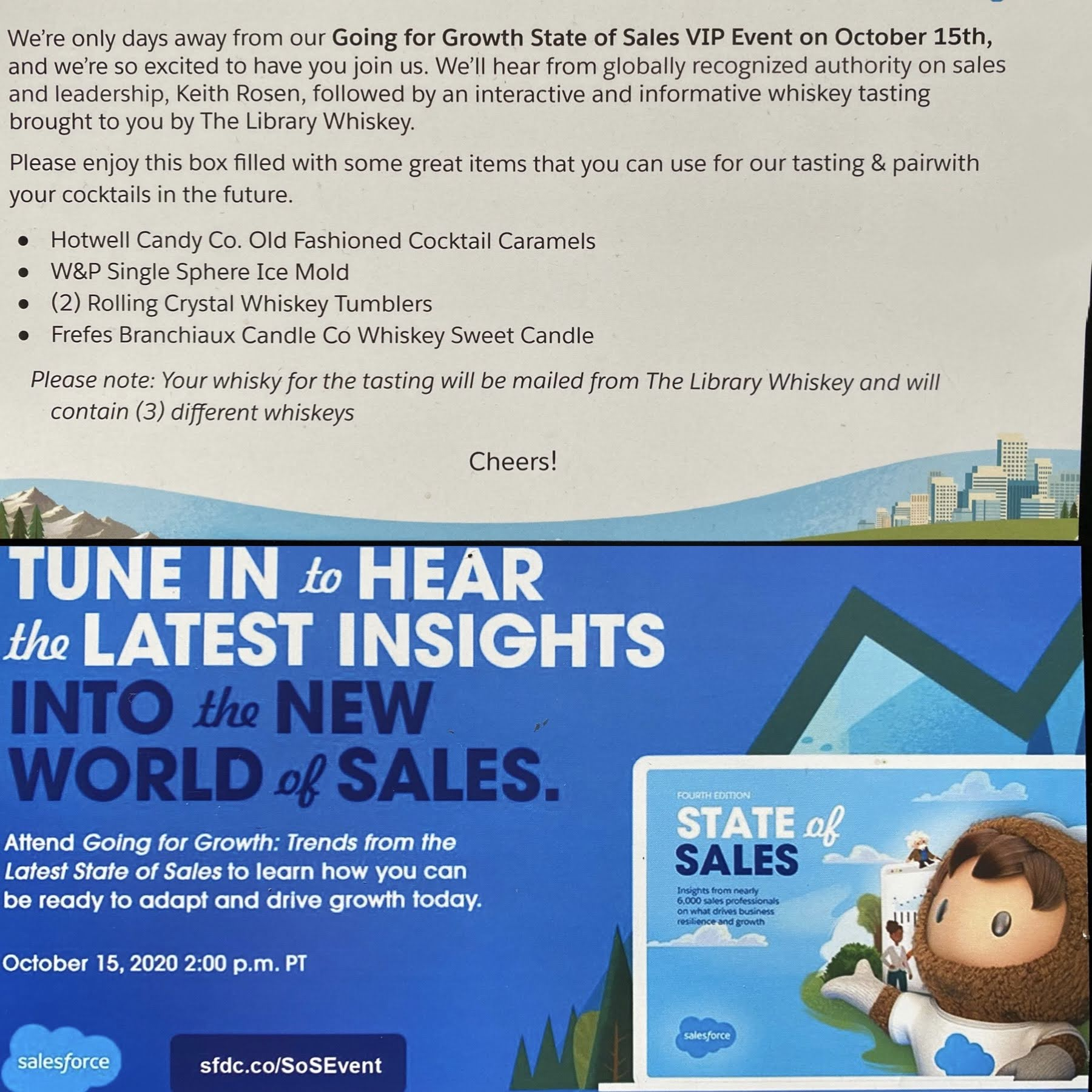 Interview at the Salesforce VIP Event for Sales Executives
