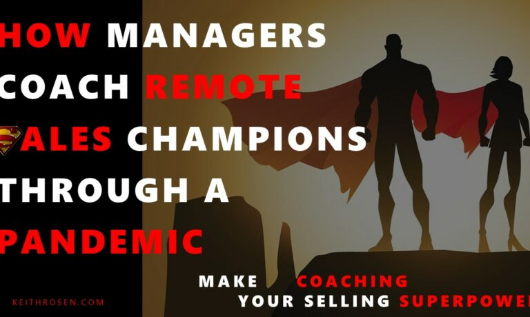 Podcast: How Managers Coach a Remote Team of Sales Champions Through a Pandemic