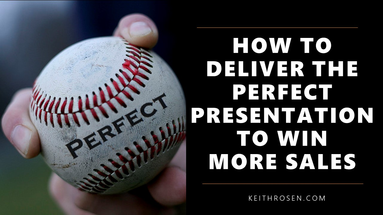 Pitch Perfect Podcast – How Top Salespeople Make the Perfect Presentation that Wins More Sales