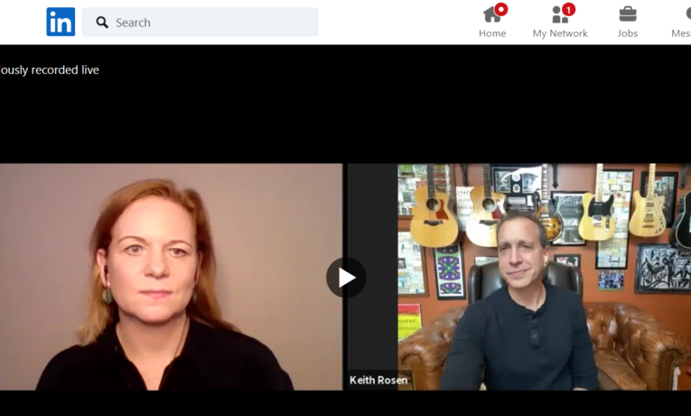 Expert Sales Talk on LinkedIn Live – How Managers Make Remote Coaching Their Selling Superpower