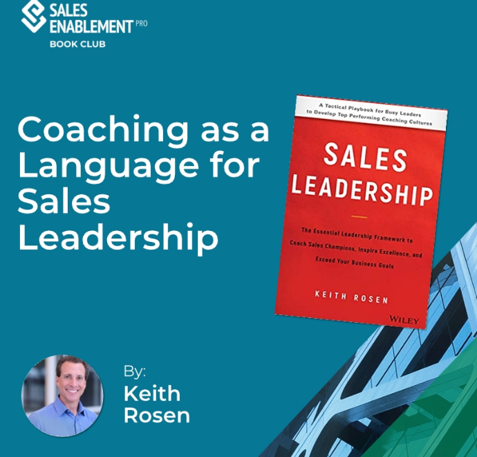 Book Club Interview – How to Use the Language of Coaching to Drive Sales